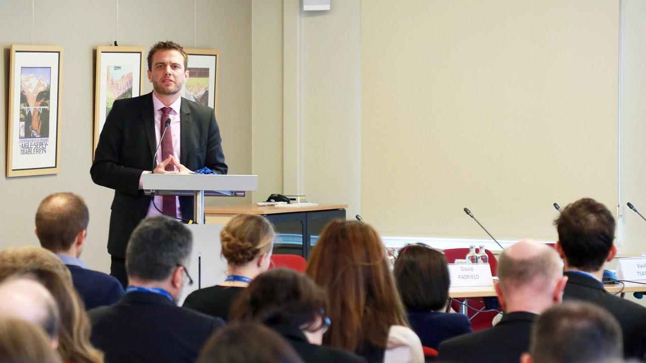 Generalsekretær Kristian Ruby i Eurelectric