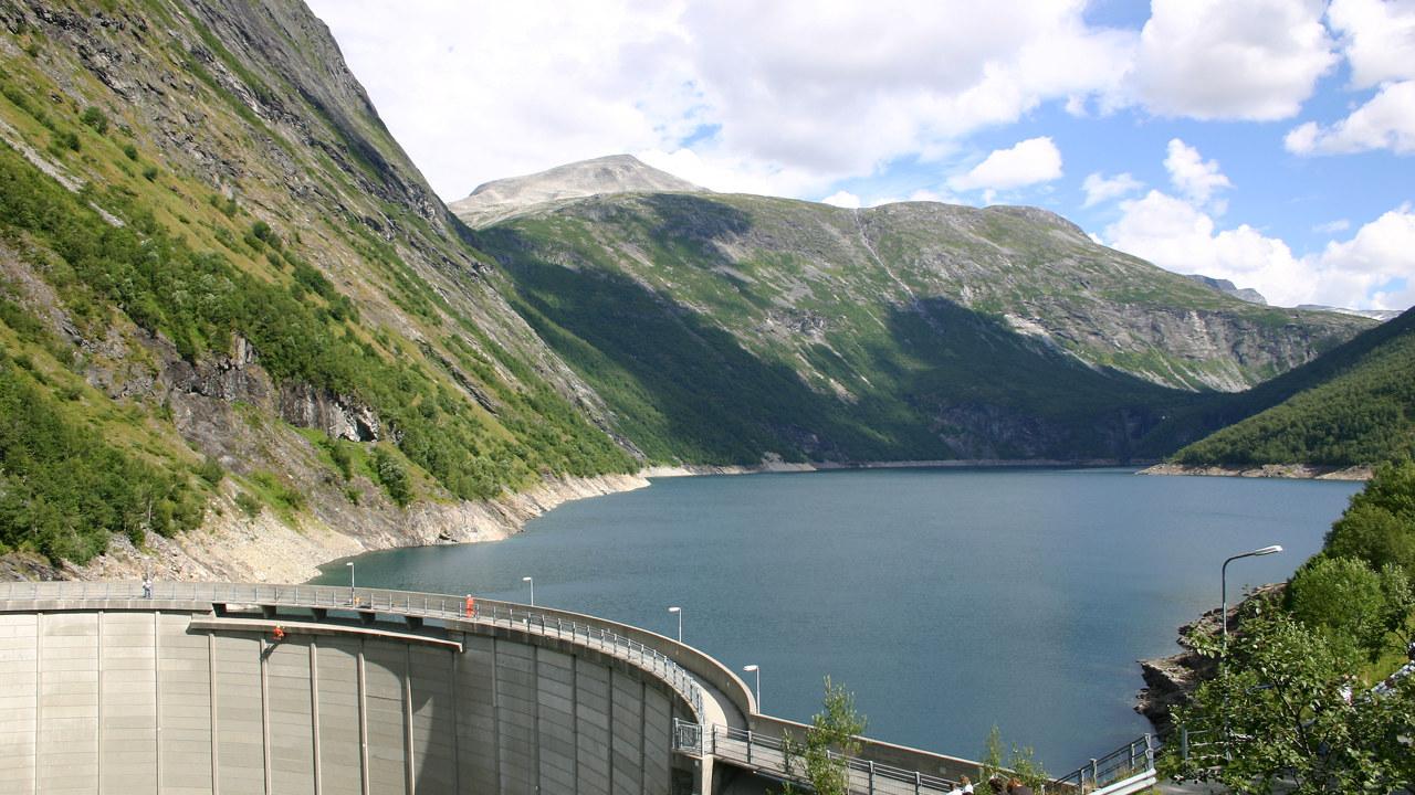 Tafjord Kraftproduksjon TKP 2006 Inspeksjon Zakarias dam rappellering