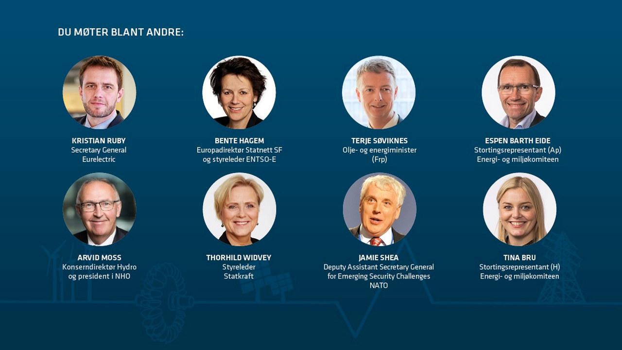 Foredragsholdere Vinterkonferansen