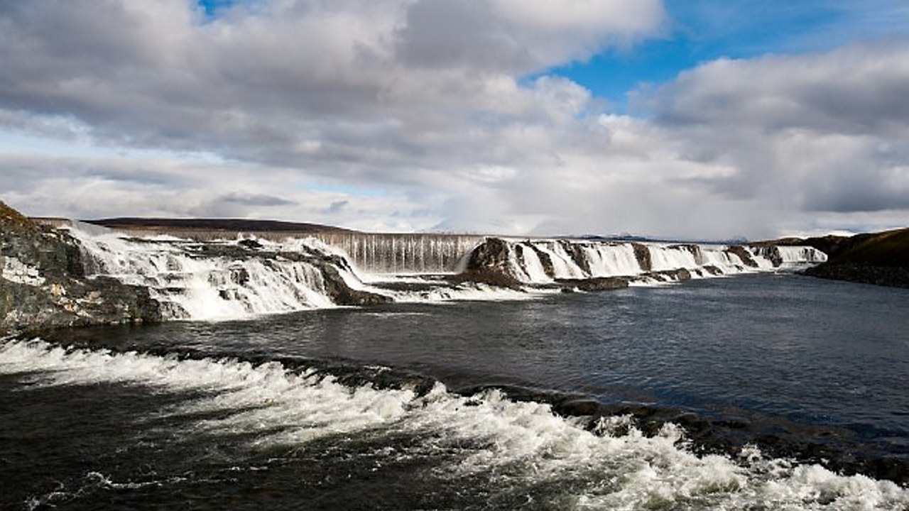 vann og natur. foto