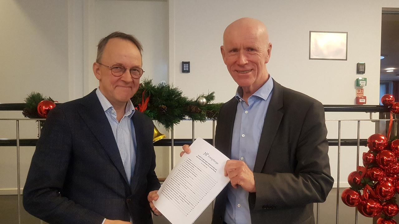 Energi Norges innspill til regjeringens ekspertutvalg som skal vurdere beskatning av vannkraftverk.