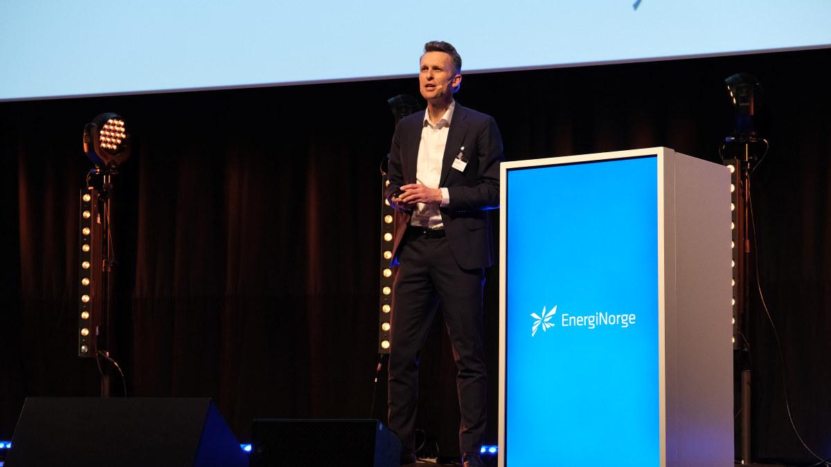 Vinterkonferansen 2019 i Malmø - dag 1. Knut Kroepelien i Energi Norge.