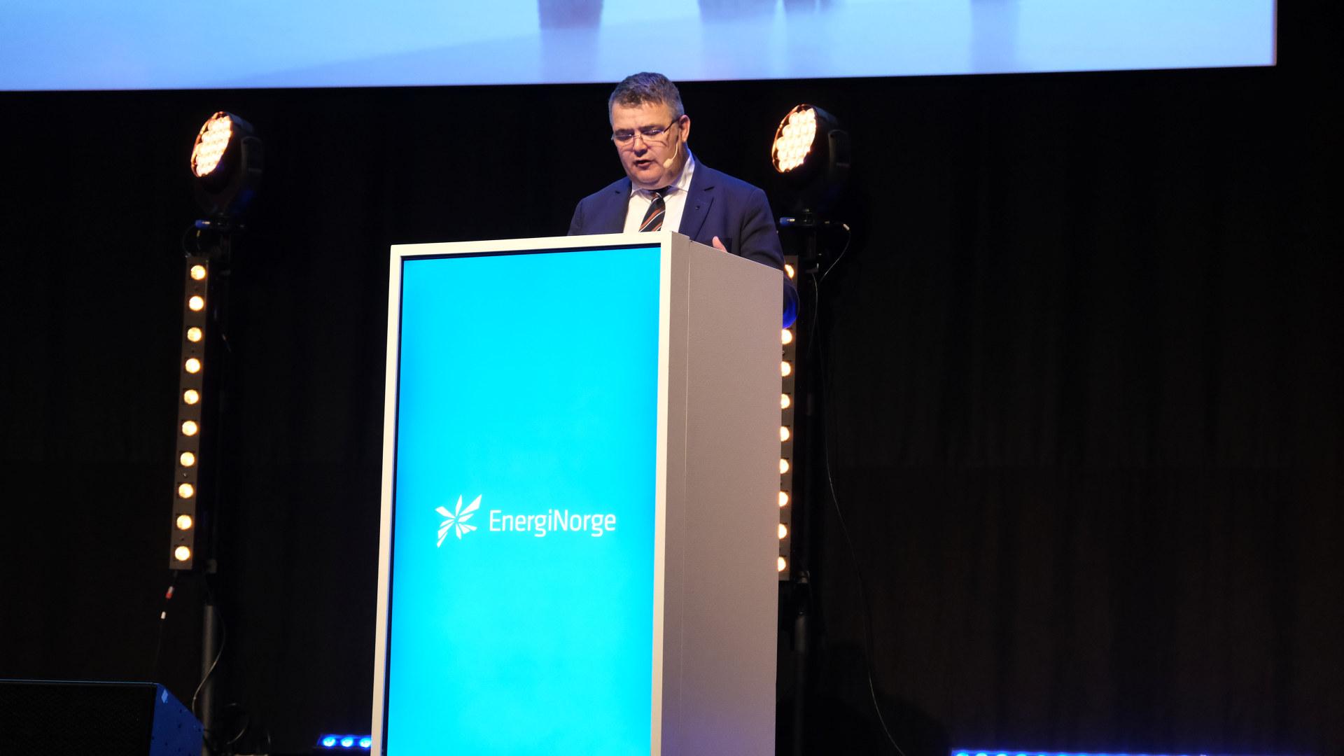 Vinterkonferansen 2019 i Malmø - Dag 3. Kjell-Børge Freiberg, Olje- og energiminister.