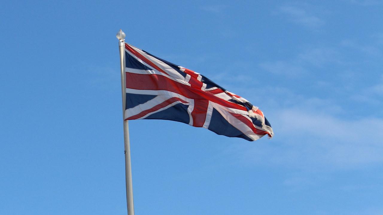 Storbritannia flagg.