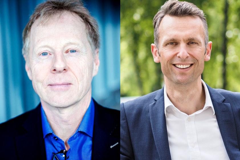 Knut Lockert og Knut Kroepelien