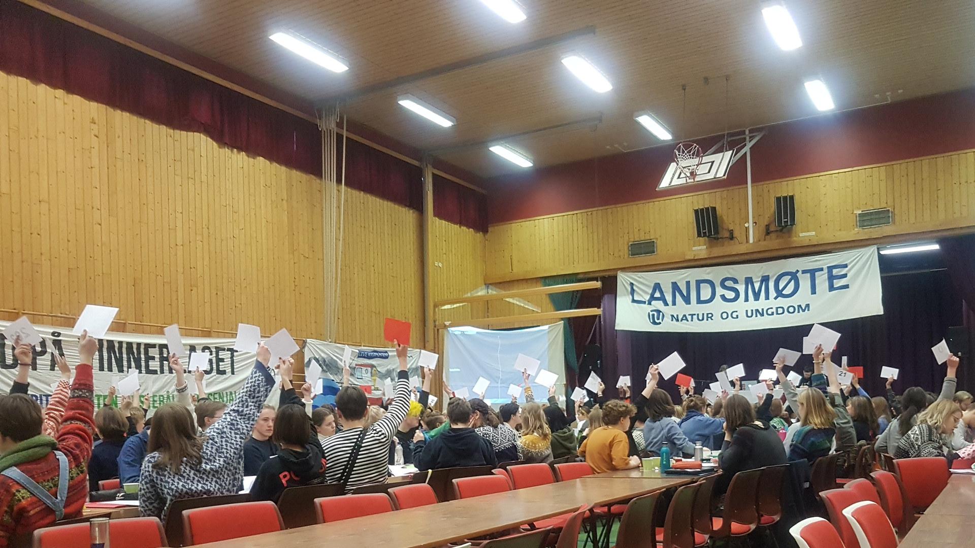 Natur og Ungdom landsmøte.