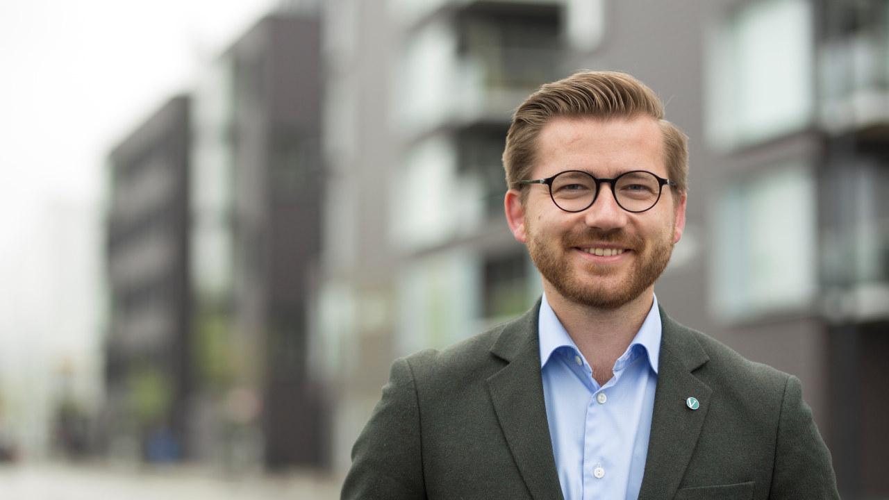Klima- og miljøminister Sveinung Rotevatn (V)
