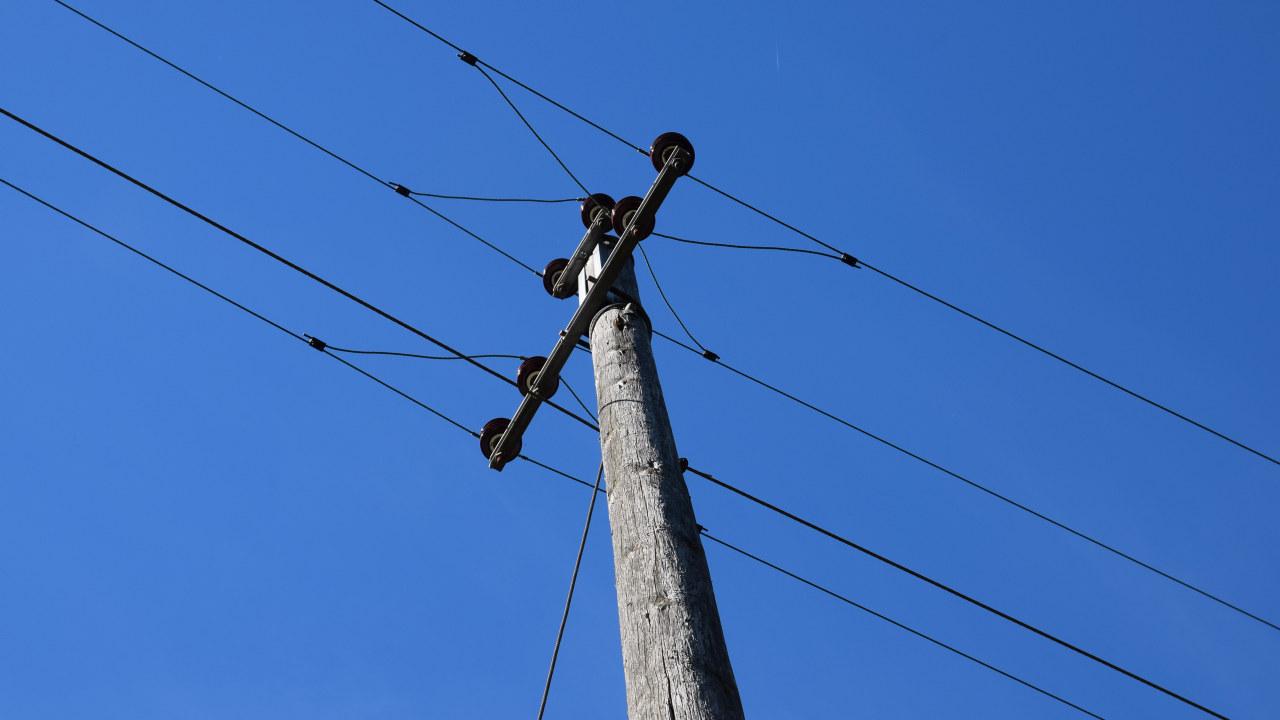 Foto: kraftmast for distribusjonsnett.