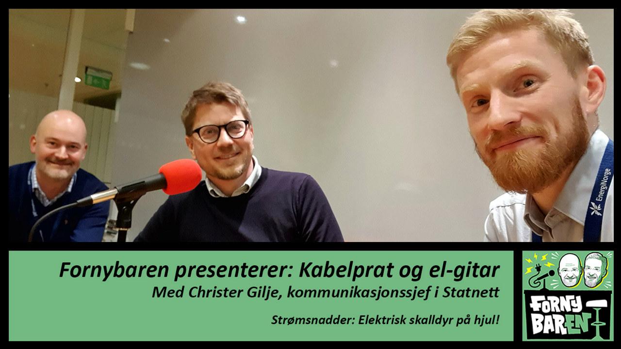 Foto: Aslak Øverås, Christer Gilje og Bendik Solum Whist