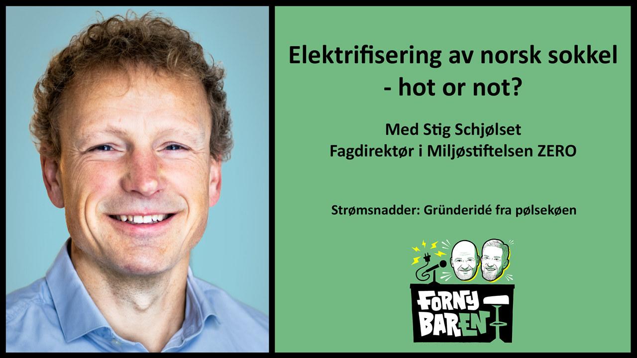 Stig Schjølset. Foto