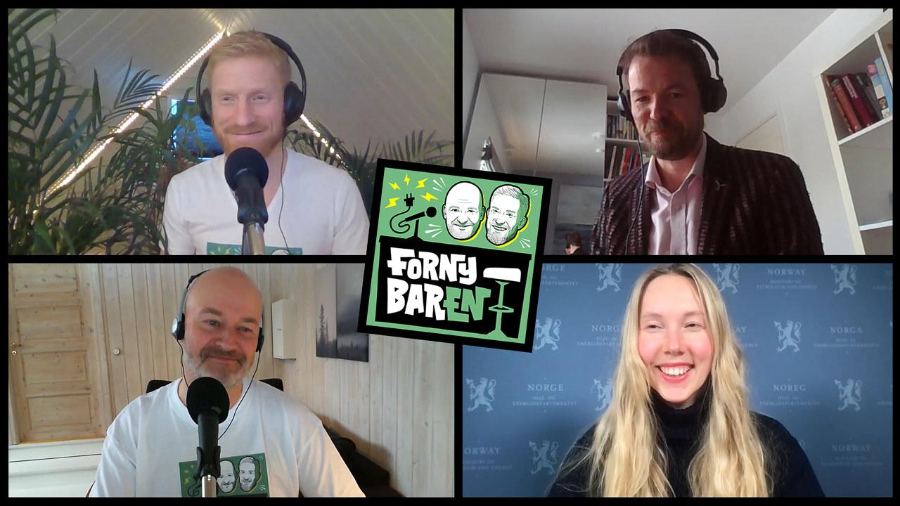 Bendik Solum Whist, Knut Vassbotn, Aslak Øverås og Karoline Sjøen Andersen. Foto