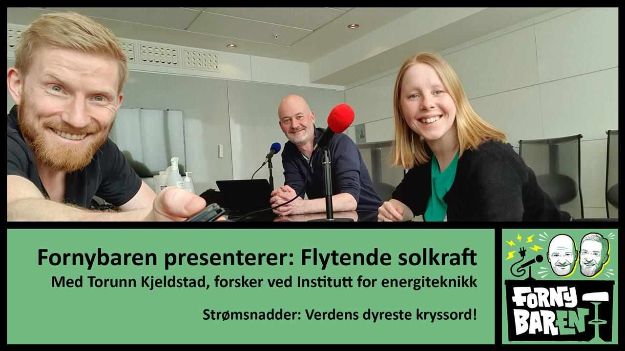 Bendik Solum Whist, Aslak Øverås og Torunn Kjeldstad. Foto