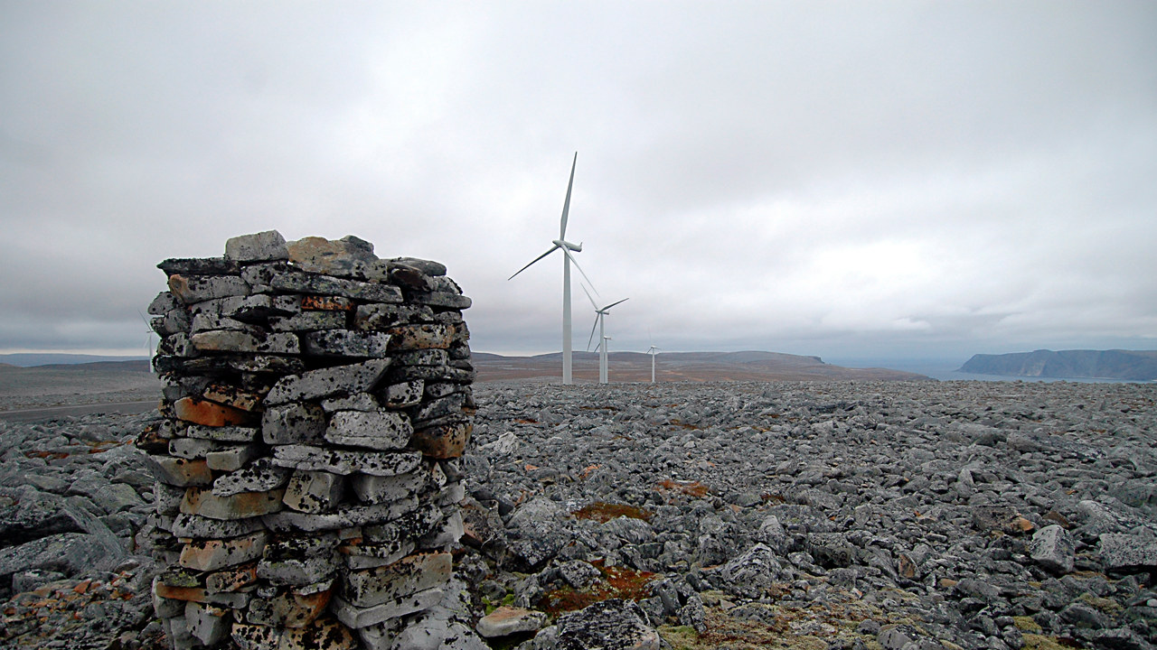 Foto: Kjøllefjord vindpark
