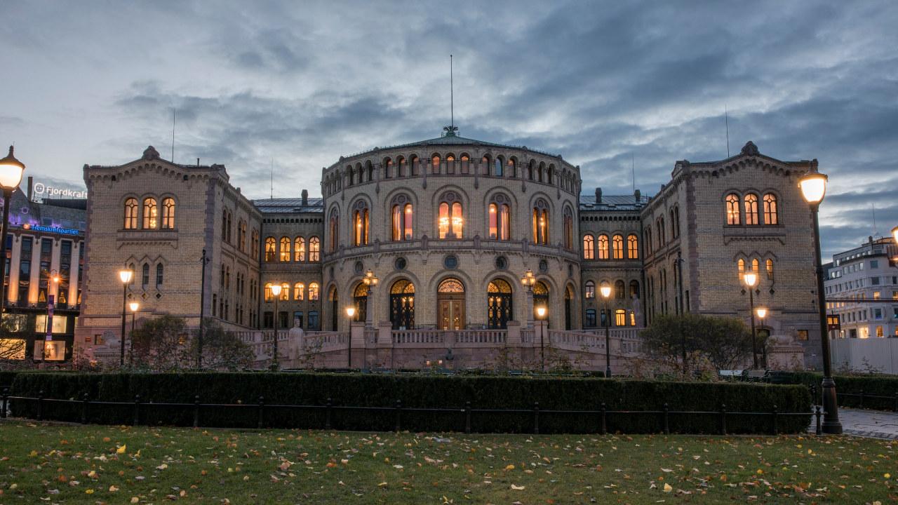 Stortingsbygningen Foto: Stortinget