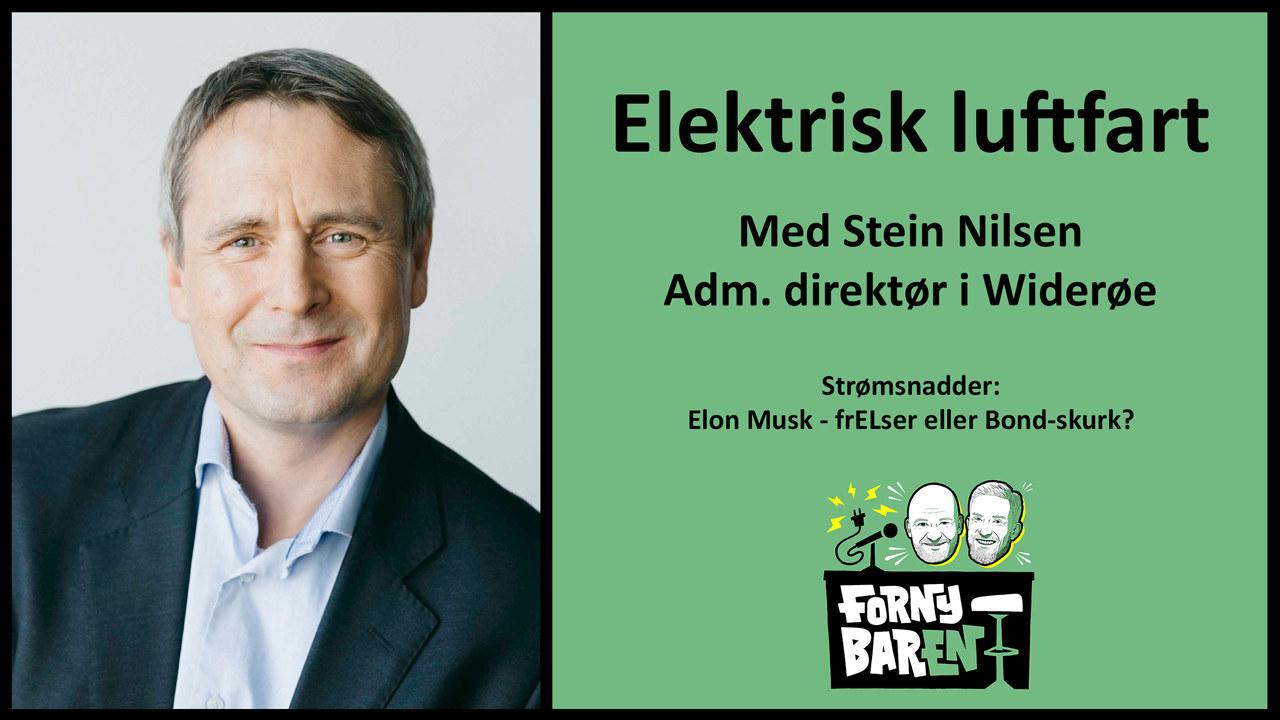 Stein Nilsen, administrerende direktør i Widerøe. Foto