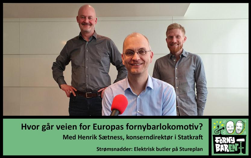Aslak Øverås,  Henrik Sætness og Bendik Solum Whist. Foto