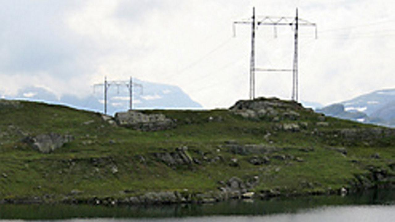 Kraftmaster på Vestlandet. Foto