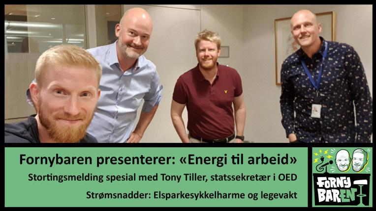 """Fornybaren presenterer: """"Energi til arbeid"""" med Tony Tiller"""
